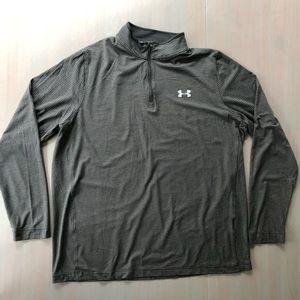 Men's Under Armour Striped Pullover XL